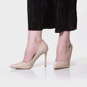 Mix No 6 Dignity Pump Beige Nude Patent Leather 9